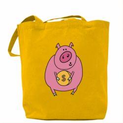 Чохол для iPhone X/Xs Pig and $