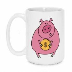 Кружка 420ml Pig and $