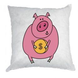 Подушка Pig and $