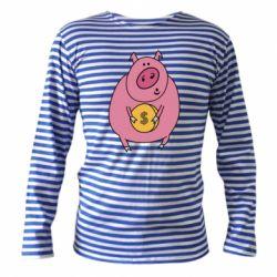 Тільник з довгим рукавом Pig and $