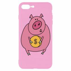 Чохол для iPhone 7 Plus Pig and $