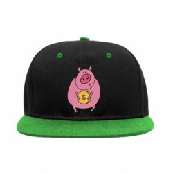 Снепбек Pig and $