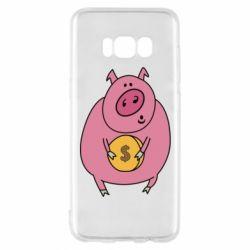 Чохол для Samsung S8 Pig and $