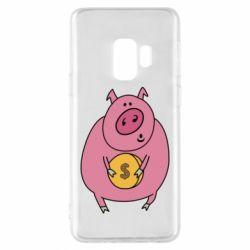 Чохол для Samsung S9 Pig and $