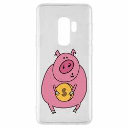 Чохол для Samsung S9+ Pig and $