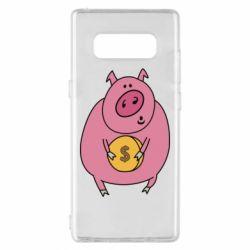 Чохол для Samsung Note 8 Pig and $