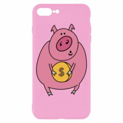 Чохол для iPhone 8 Plus Pig and $