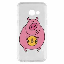 Чохол для Samsung A3 2017 Pig and $