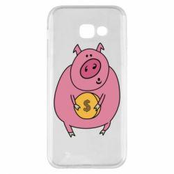 Чохол для Samsung A5 2017 Pig and $