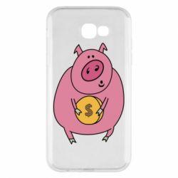 Чохол для Samsung A7 2017 Pig and $