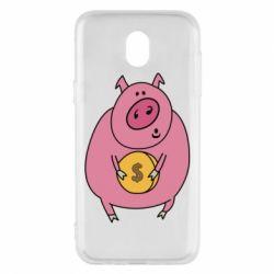 Чохол для Samsung J5 2017 Pig and $
