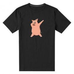 Чоловіча стрейчева футболка Pig dab