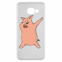 Чохол для Samsung A3 2016 Pig dab