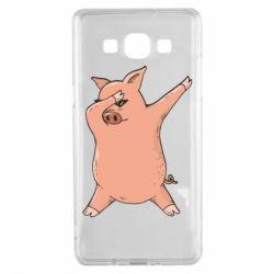Чохол для Samsung A5 2015 Pig dab