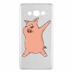 Чохол для Samsung A7 2015 Pig dab