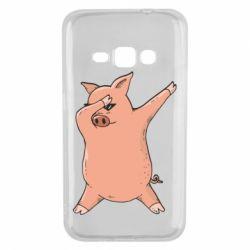Чохол для Samsung J1 2016 Pig dab