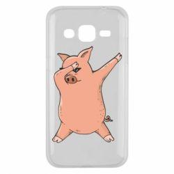 Чохол для Samsung J2 2015 Pig dab