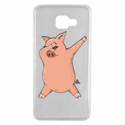 Чохол для Samsung A7 2016 Pig dab