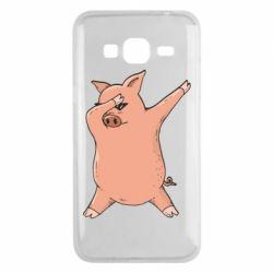 Чохол для Samsung J3 2016 Pig dab