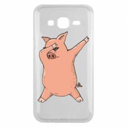 Чохол для Samsung J5 2015 Pig dab