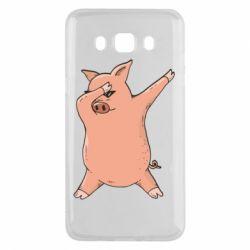 Чохол для Samsung J5 2016 Pig dab