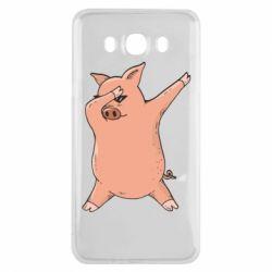 Чохол для Samsung J7 2016 Pig dab