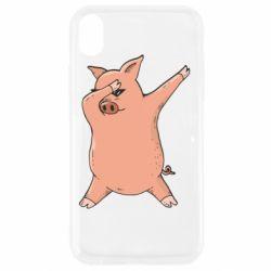 Чохол для iPhone XR Pig dab