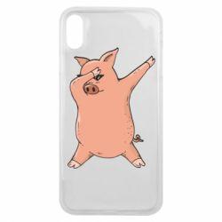 Чохол для iPhone Xs Max Pig dab