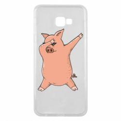 Чохол для Samsung J4 Plus 2018 Pig dab
