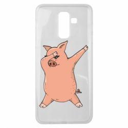 Чохол для Samsung J8 2018 Pig dab