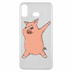 Чохол для Samsung A6s Pig dab