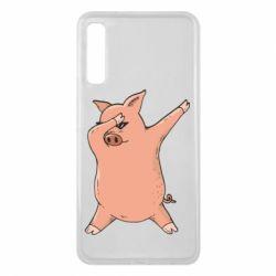 Чохол для Samsung A7 2018 Pig dab