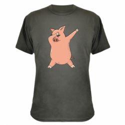 Камуфляжна футболка Pig dab