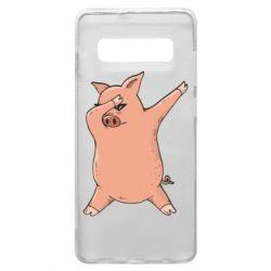Чохол для Samsung S10+ Pig dab