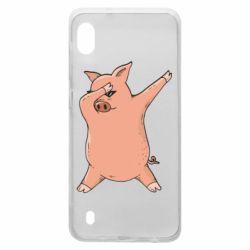 Чохол для Samsung A10 Pig dab