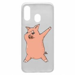 Чохол для Samsung A40 Pig dab
