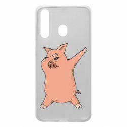 Чохол для Samsung A60 Pig dab