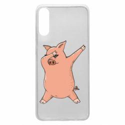 Чохол для Samsung A70 Pig dab