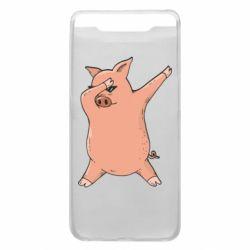 Чохол для Samsung A80 Pig dab