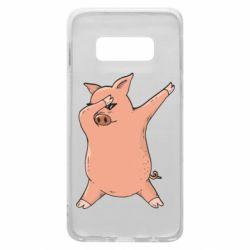 Чохол для Samsung S10e Pig dab