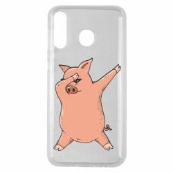 Чохол для Samsung M30 Pig dab
