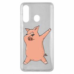Чохол для Samsung M40 Pig dab