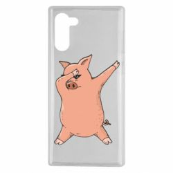 Чохол для Samsung Note 10 Pig dab