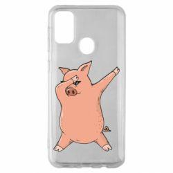 Чохол для Samsung M30s Pig dab