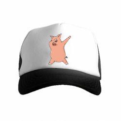 Дитяча кепка-тракер Pig dab