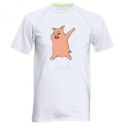 Чоловіча спортивна футболка Pig dab
