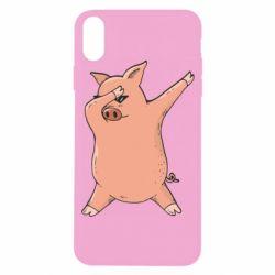 Чохол для iPhone X/Xs Pig dab