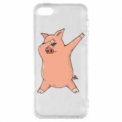 Чохол для iphone 5/5S/SE Pig dab