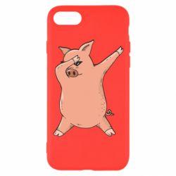 Чохол для iPhone 7 Pig dab