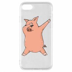 Чохол для iPhone 8 Pig dab